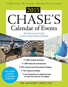 Chase s Calendar of Events 2015 PDF