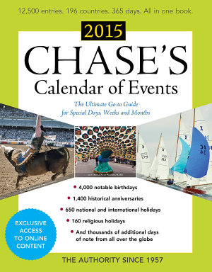 Chase s Calendar of Events 2015