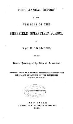 Report of the Sheffield Scientific School of Yale University PDF