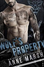Wolf's Property: A Wolf Pack Motorcycle Club Book: A Breed MC Book 2