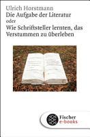 Die Aufgabe der Literatur PDF