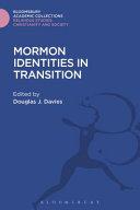 Mormon Identities in Transition PDF