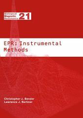 EPR: Instrumental Methods