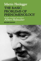 The Basic Problems of Phenomenology: Edition 2
