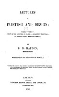 Lectures on Painting and Design      Fuzeli  Wilkie  Effect of the societies on taste  A competent tribunal  On fresco  Elgin marbles  Beauty PDF