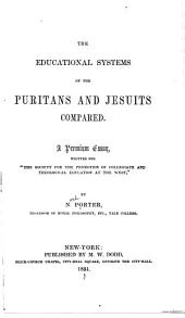 The educational systems of the Puritans and Jesuits compared