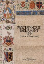 Proceedings in Parliament, 1614 (House of Commons)