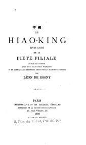 Le Hiao-king: livre sacré de la piété filiale