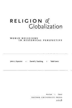 Religion and Globalization PDF