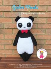 Großer Panda: Amigurumi Häkelanleitung