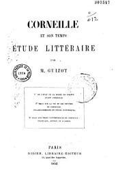 Corneille et son temps: étude de littérature