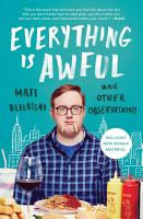 Everything Is Awful PDF