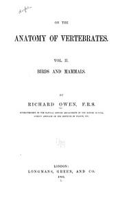 On the Anatomy of Vertebrates      Birds and mammals PDF
