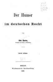 Der Humor im deutschen Recht