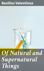 Of Natural and Supernatural Things