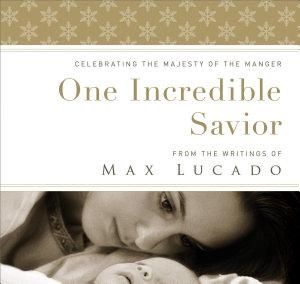 One Incredible Savior Book