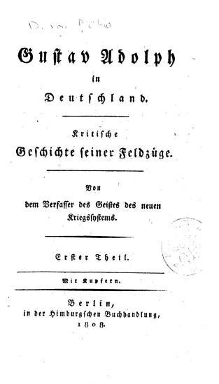 Gustav Adolph in Deutschland PDF