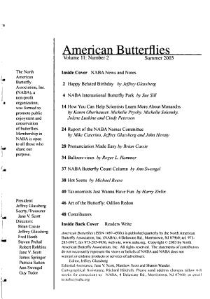 American Butterflies PDF