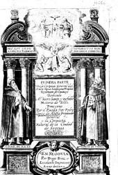 Primera parte de la Coronica General del Orden de la Santissima Trinidad Redencion de Cautivos