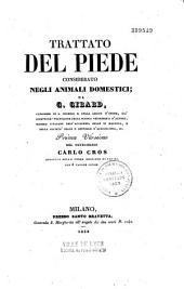 Trattato del Piede considerato Negli Animali Domestici
