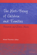 The Well-being of Children and Families