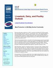 Livestock, Dairy, and Poultry Outlook May 28, 2003