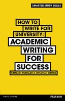 How to Write for University eBook PDF PDF