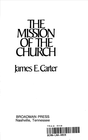 The Mission of the Church PDF