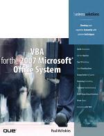 VBA for the 2007 Microsoft Office System (Adobe Reader)