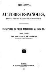 Biblioteca de autores españoles: Volumen 51