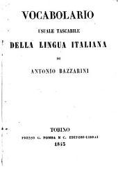 Vocabolario usuale tascabile della lingua italiana