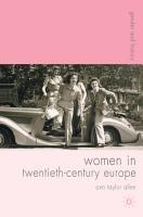 Women in Twentieth Century Europe PDF