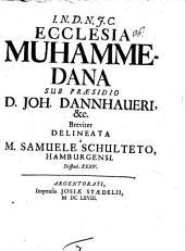 I. N. D. J. C. Ecclesia Muhammedana