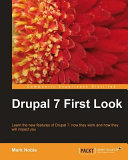 Drupal 7 First Look