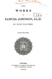 The Works of Samuel Johnson ...: A journey to the Hebrides. The vision of Theodore, the hermit of Teneriffe. The fountains. Prayers and meditations. Sermons.v. 10-11. Parliamentary debates