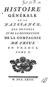 Mémoires pour servir à l'histoire générale des Jésuites, extraits de l'Histoire universelle de Monsieur J. A. de Thou [by C. Coudrette].