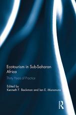 Ecotourism in Sub Saharan Africa PDF