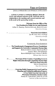 Journal of Higher Education Outreach and Engagement PDF