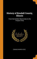 History of Kendall County, Illinois