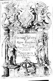 Historia general del Reyno Balearico