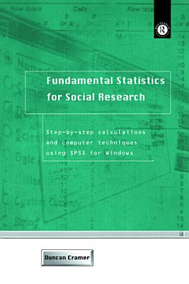 Fundamental Statistics for Social Research PDF