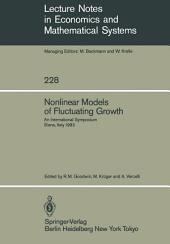 Nonlinear Models of Fluctuating Growth: An International Symposium Siena, Italy, March 24–27, 1983