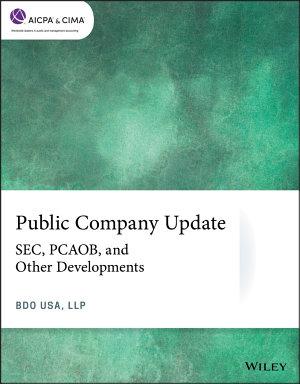 Public Company Update
