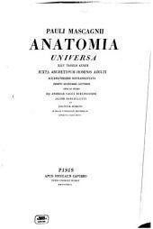 Anatomia universa: XLIV tabulis aeneis juxta archetypum hominis adulti accuratissime repraesentata, Volume 1