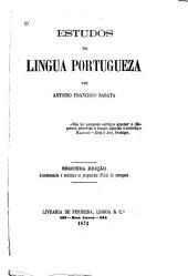 Estudos da lingua portugueza