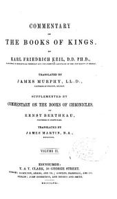 Commentary on the Books of Kings: Volume 2
