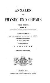 Annalen der Physik und Chemie: Band 10
