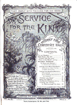 Service for the King  No 1   July 1907