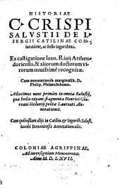Historiae de L. S. Catilinae coniuratione