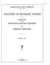 Pollution of Boundary Waters